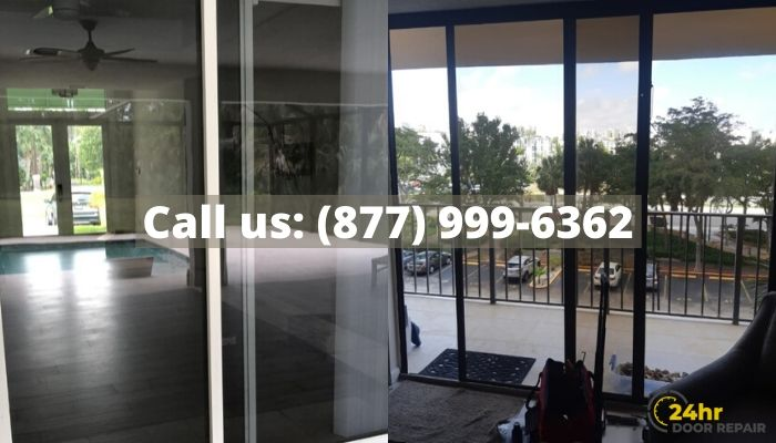 Sliding Door Repair in Weston