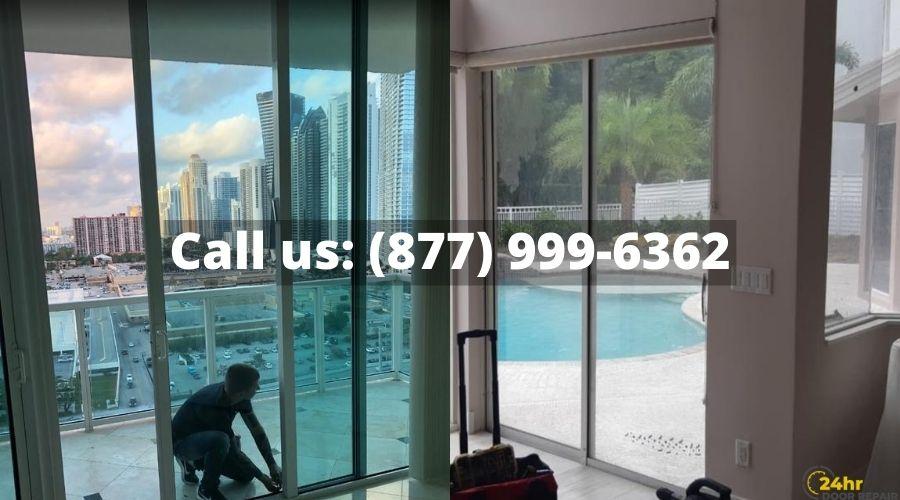 Sliding door repair in Orlando
